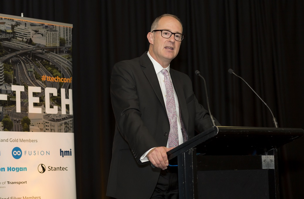 Phil Twyfordat T-Tech Conference by ITS New Zealand