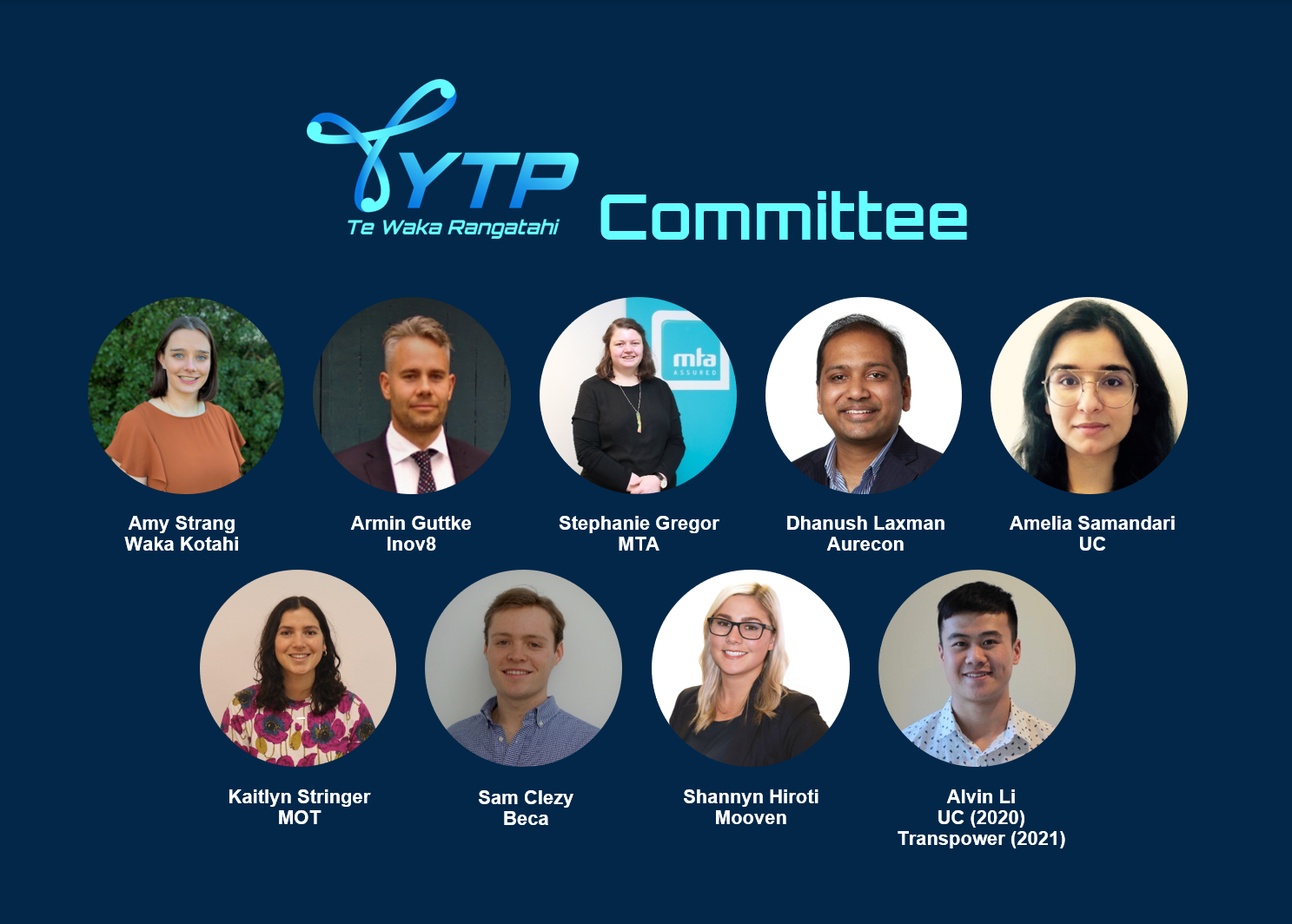YTP Committee profile pictures